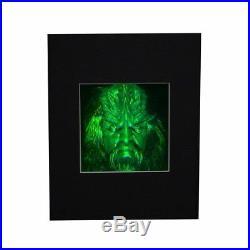 3D Star Trek Ferengi Klingon Borg Hologram Picture (Matted), Photopolymer Film