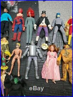 70's MEGO DC marvel super heroes star trek pota Original PARTS doll lot vintage