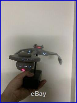 Amt Original Klingon Battle Cruiser Pro Built Assembled And Painted With Lights