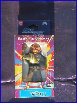 Bandai German 1993 Star trek Next Gen Ferengi Figure sealed in Original Box