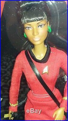Barbie STAR TREK DOLLS SET of 4 50th Anniversary VINA CAPTAIN KIRK SPOCK UHURA