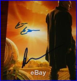 Cast Signed Star Trek Picard Poster 8x10 Photo By 5 Auto Coa Stewart Cabrera ++