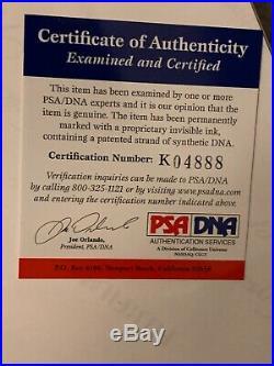 Chris Pine Signed Star Trek 11x14 Photo PSA/DNA