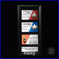 Communicator Pin Set Star Trek offizielle original Replica limited Edition