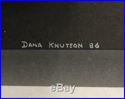 Dana Knutson Star Trek Art Four Year's War Original Cover Art NM