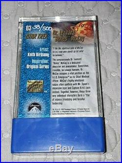 DeForest Kelley Autographed Signed 1993 Skybox Star Trek Card Dr Mccoy 38 of 500