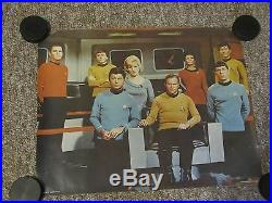EIGHT 1976-1992 Star Trek Posters. All are original