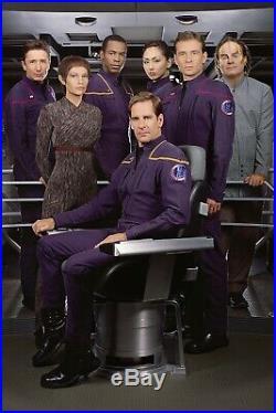Enterprise Starfleet Uniform Boots STAR TREK PROP COSTUME SCREEN USED 10.5
