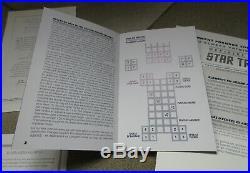 Jeu d'Echecs Star Trek TOS Medaillier Franklin Mint 3D Chess Game original box