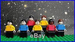 LEGO STAR TREK Original Series minifigures. READ DETAILS all 100% Genuine LEGO