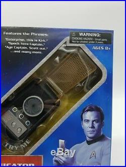 LOT Star Trek The Original Series Phaser Prop Replica & Classic Communicator