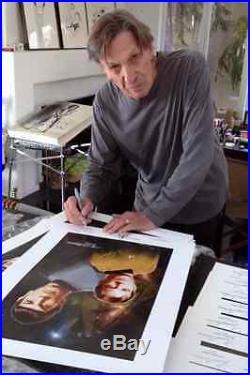 Leonard Nimoy William Shatner Signed 8x10 Photo Star Trek Kirk Spock Autograph