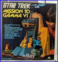 Mego Star Trek Mission to Gamma VI Playset withOriginal Packaging Vintage