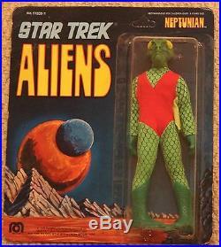 Mego star trek neptunian rare 8 inch 1976 carded original vintage 51203/1