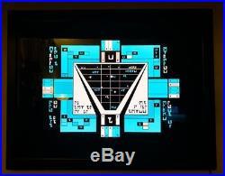 ORIGINAL Star Trek TNG Production-Used Romulan Translite with Lightbox