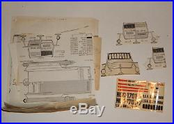 Original 1974 Vintage Star Trek Galileo 7 Shuttlecraft Amt Model Kit R19177