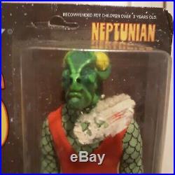 Original Mego Star Trek Aliens Neptunian Action Figure 1975 UNPUNCHED Card