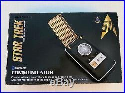 Original Series Star Trek Wand Bluetooth Communicator TOS Collector's NIB