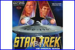 Polar Lights 1/350 Star Trek The Original USS Enterprise NCC1701 50th Ann PLL938