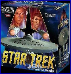 Polar Lights 938 1350 Star Trek The Original Series Enterprise NCC1701 50th