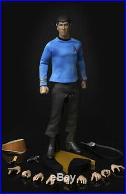 Quantum Mechanix QMx Star Trek TOS The Original Series Spock 1/6 12 Figure