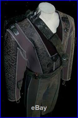 STAR TREK DS9 JEMHADAR UNIFORM COMPONENTS- Star Trek prop SCREEN USED (253)