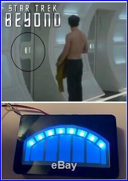 Screen Used Star Trek Beyond Enterprise Door Panel, Lights Up, LCARS