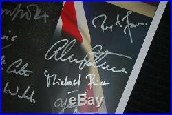 Sherlock Rare & Original Signed Poster Benedict Star Trek Avengers Cumberbatch