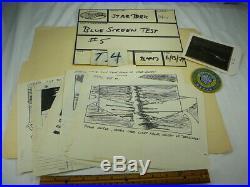Star Trek 1979 Story Boards Crew Patch Rare Vintage VFX Visual Effects Original