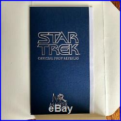 Star Trek Classic Science Tricorder Original Master Replicas 1168/2500 Near Mint