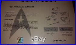 Star Trek DS9 Deep Space Nine Original Pencil Production Sketches Propworx Prop