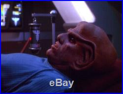 Star Trek DS9 Nemesis Starfleet Medical Device IV Drip Hero Prop Screen Used COA