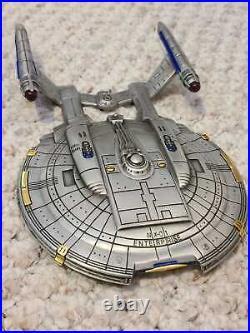 Star Trek Franklin Mint NX-01 Enterprise NEW IN ORIGINAL BOX from 2003