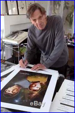 Star Trek Mirror Mirror Signed Photo William Shatner Leonard Nimoy Autograph