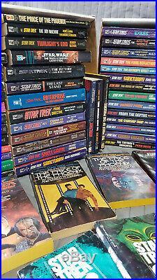 Star Trek Original Paperback LOT x122 total! Blish Sci Fi Vintage Shatner Book