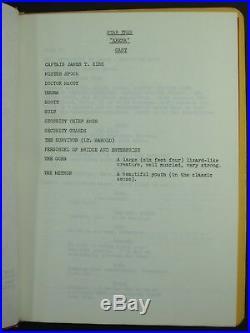 Star Trek Original Script ARENA FINAL DRAFT 1966 by Gene Coon PROD #6149-19