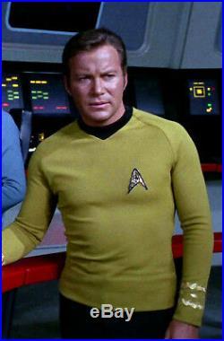 Star Trek Original Series 3rd Season Shirt Kit, Accurate Double Knit Kirk