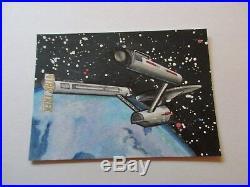 Star Trek Original Series Captains Collection Draper Enterprise Sketch TOS 16