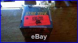 Star Trek Original Series Captains Collection Sealed ARCHIVE BOX Master Set TOS