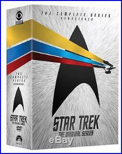 Star Trek Original Series TOS All Seasons Episodes Complete Series DVD Set New