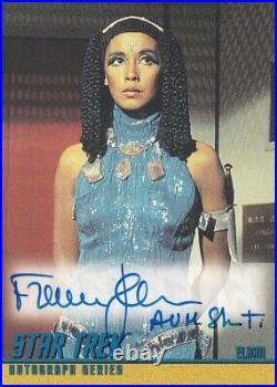 Star Trek (TOS) The Original Series Autograoh A111 France Nuyen ELAAN INSCRIBED