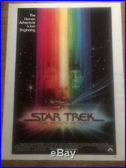 Star Trek The Motion Picture 1979 Nss Original Movie Poster