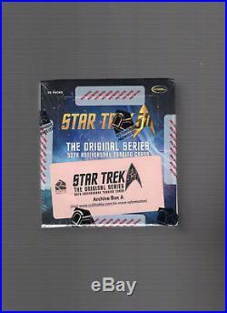 Star Trek The Original Series 50th Anniversary A Factory Sealed Archive Box