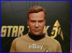 Star Trek The Original Series Captain James T Kirk QMX 1/6 Figure Shatner