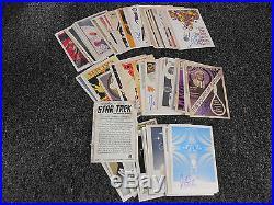 Star Trek The Original Series Portfolio Prints 80 Card Juan Ortiz Autograph Set