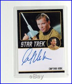 Star Trek The Original Series Portfolio Prints Autograph William Shatner