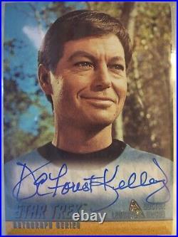 Star Trek The Original Series Season Two autograph A27 DeForest Kelley McCoy