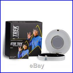 Star Trek The Original Series Spock 2015 1oz Silver Proof Coin Pf69 Ultra Cameo