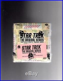 Star Trek The Original Series TOS Portfolio Prints Sealed Archive