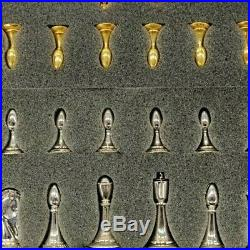 Star Trek Tri-Dimensional Chess Set, 1994 Original Limited Edition Franklin Mint